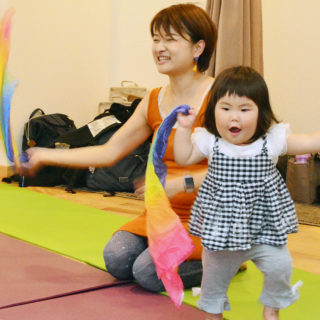 1歳の子と音楽クラス