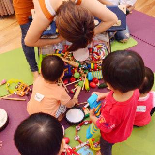 0歳から楽しむ音楽クラスは相武台と海老名と中央林間と南林間のMusic Together
